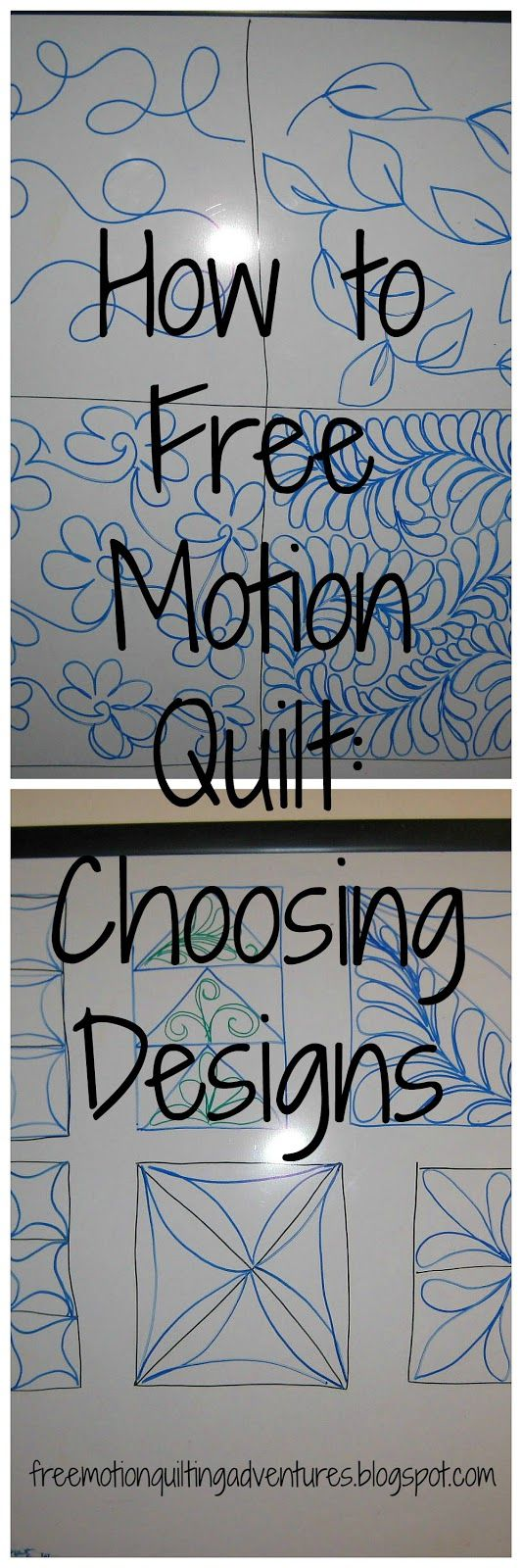 Amy's Free Motion Quilting Adventures: How to Free Motion Quilt: The Designs