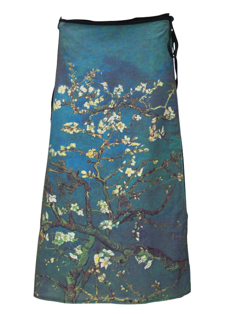 Art Wrap Skirt Almond Blossom, Vincent Van Gogh