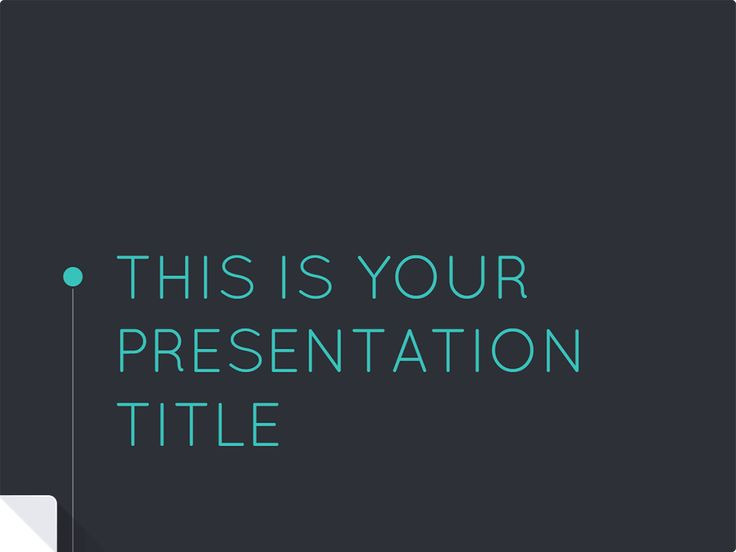 Nice modern #presentation template ready to use for Google Docs or PPT. #Eleanor presentation
