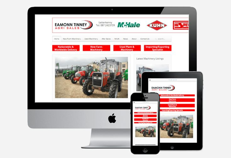 Eamonn Tinney Agri Sales www.eamonntinney.com