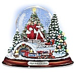 "Sleigh Bells In The Snow: Water Globe With The Movie Characters From ""White Christmas"". The enchantment of Christmas comes together with a classic movie that has been filling hearts with holiday cheer since 1954. Invite Hollywood holiday magic into your home with this first-ever ""White Christmas"" musical water globe. This water globe features authentic character art of the beloved White Christmas movie cast. Snow continuously swirls around the characters inside the illuminated globe. This…"