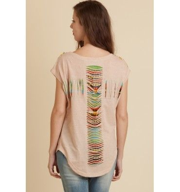 Espalda de la camiseta de Rosalita Mc Gee.