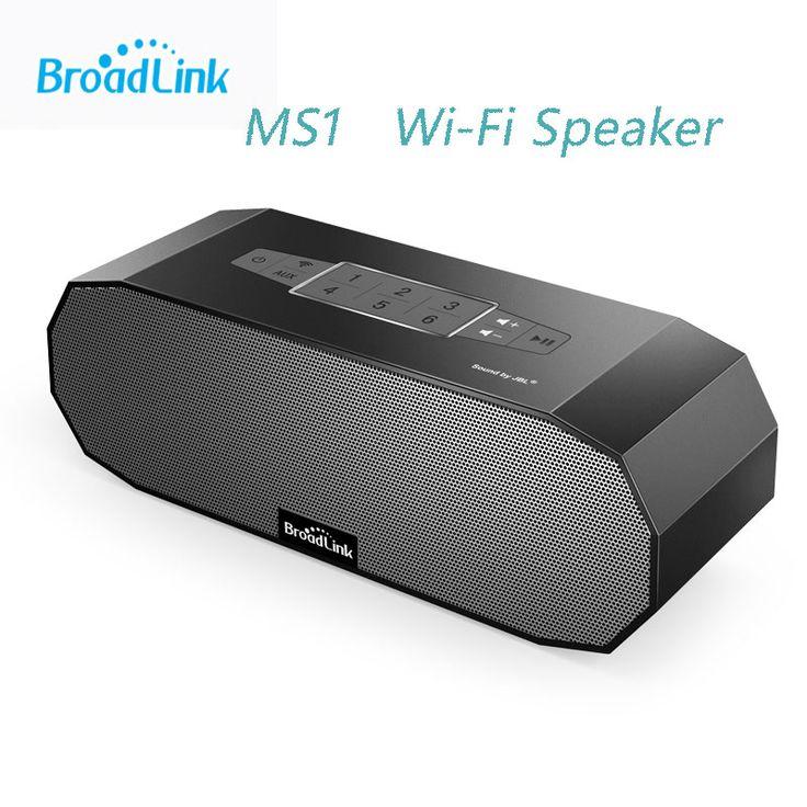 Maison intelligente Broadlink MS1 Haut Parleur WiFi Sans Fil Mini Portable Haut Parleur Audio Ndfeb Aimant Double Stéréo + Double Radiateur Passif App dans Haut-parleurs de Consumer Electronics sur AliExpress.com | Alibaba Group