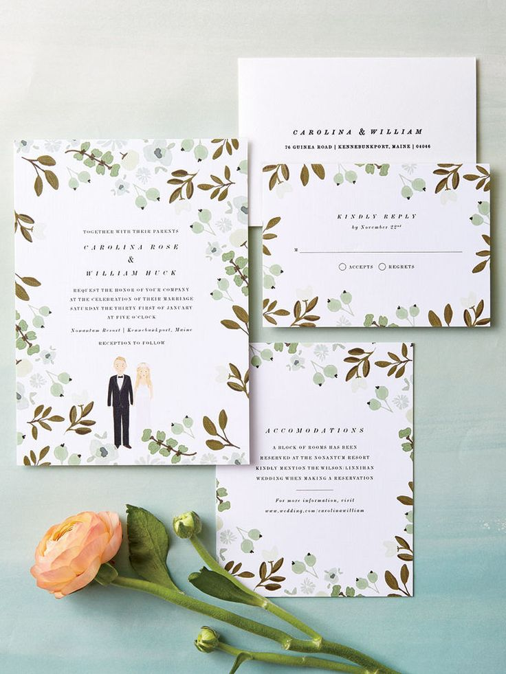 20 Prettiest Wedding Invitations 870 best Wedding