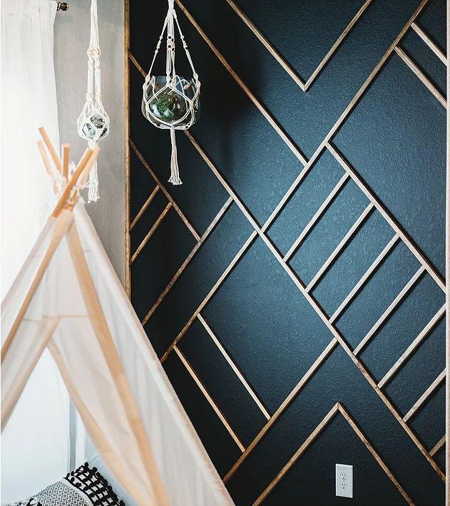 Modern Wood Accent Wall Ideas | Decorative Wood Walls