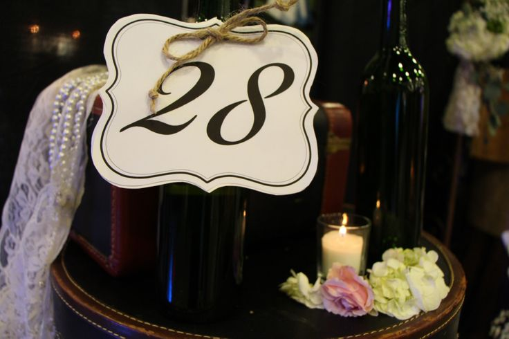 Carlos Creek Winery #WeddingDecor