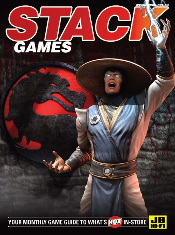 STACK issue 103 - May 2013    Mortal Kombat