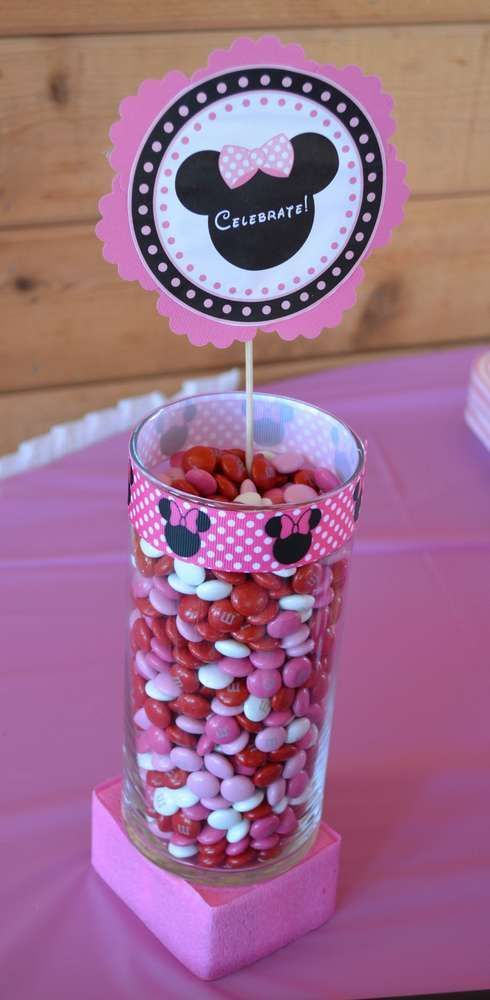 Minnie Mouse Birthday Party Ideas | Photo 1 of 9 | Catch My Party