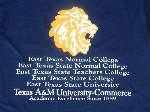 TEE-AMC-SCHOOL HISTORY | TBC #134 - Texas A & M - Commerce