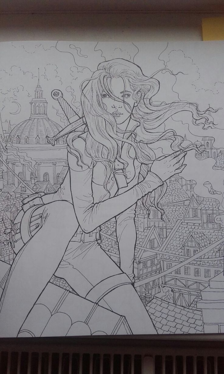 Thorne of glass coloring book  Celaena