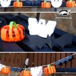 Украса от хартия за Хелоуин – лесна за направа