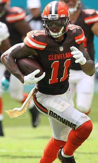 Terrelle Pryor, no quit in him!  What a Cleveland Brown.