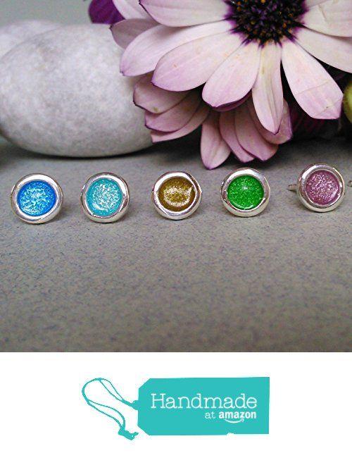 SILVER TINY STUD EARRINGS/sterling silver stud earrings/silver enamel earrings/spring earrings jewelry/handmade earrings/women gift/girl gift/ tiny studs/ silver tiny earrings/ multi-color silver stud earrings/ circle tiny silver stud earrings from onirojewelry http://www.amazon.com/dp/B01DV5CGXE/ref=hnd_sw_r_pi_dp_9bScxb1JVSHCV #handmadeatamazon