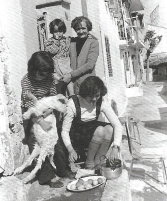 Θεσσαλονικη, Άνω Πόλης, Μεγάλη Πέμπτη του 1972. Μιχάλης Παππούς