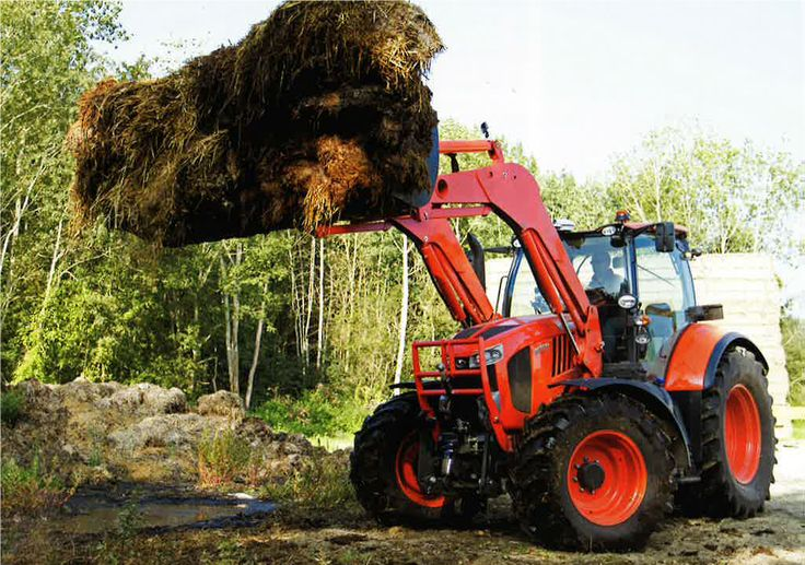 Yes, you're getting a sneak peak at the new range of Kubota 130, 150 and 170 hp tractors coming along soon.