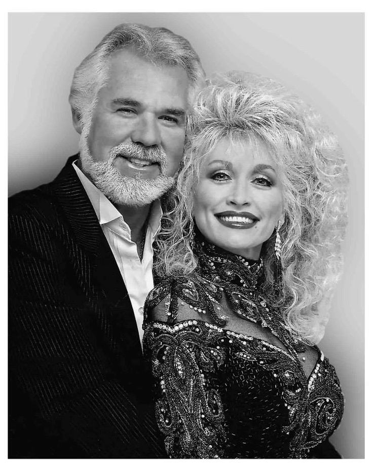 Dolly Parton with Kenny Rogers