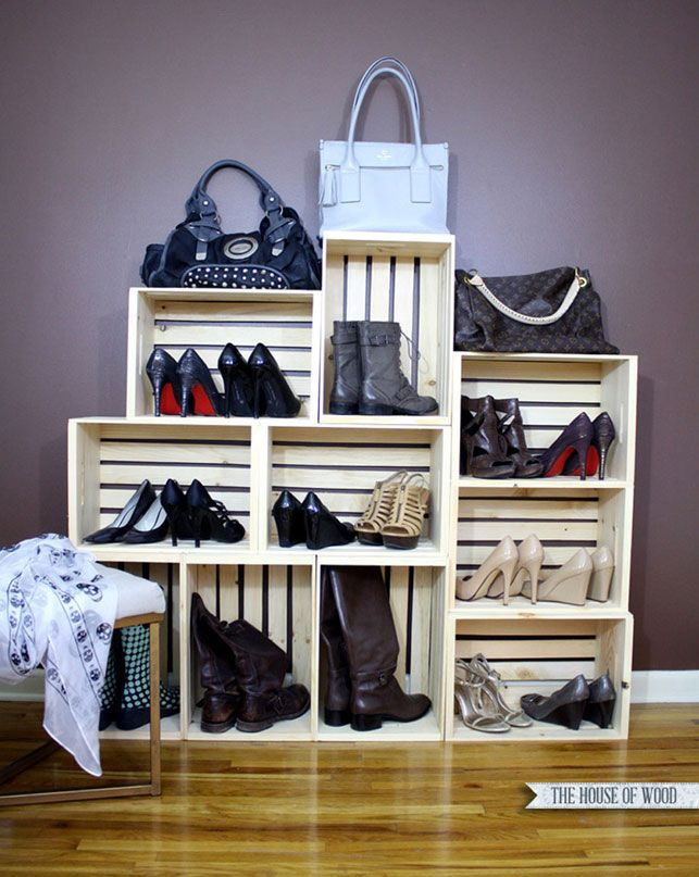 les 33 meilleures images du tableau astuces rangement chaussures sur pinterest astuces. Black Bedroom Furniture Sets. Home Design Ideas