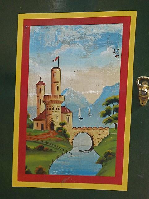 Castle Painting on Angel II by Thorskegga, via Flickr