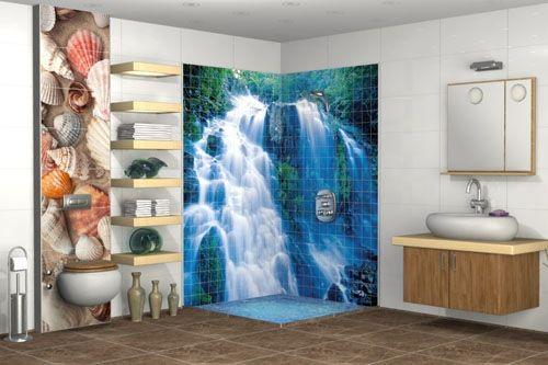 Banyo 3D Cam Mozaik  BNY  1750 -1