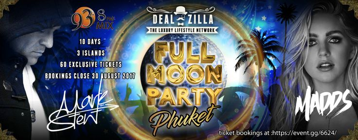 DEALZILLA Full Moon Party Thailand