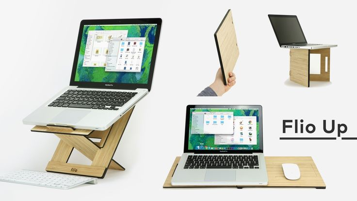 Flio Up - The 1st Laptop Stand Workstation on the Go by Vlad Butucariu —Kickstarter