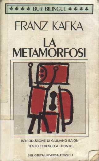 La metamorfosi, Kafka letto moltissimi anni fa......il mio primo libro letto