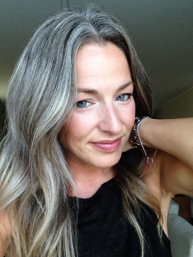 Grey is the new blonde | Almost two years now