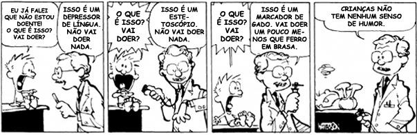 Calvin no medico