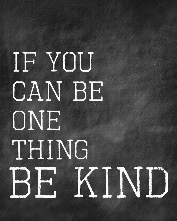 A Pocket full of  LDS prints: Be Kind - Free printable