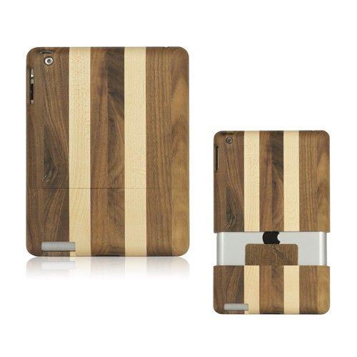 Ekte Tre (Striper) iPad 2 Deksel
