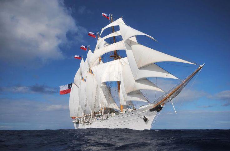Training Ship Esmeralda from Chile