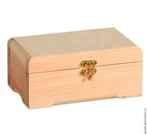 creatief besparen en meer: houten kistje bekleden