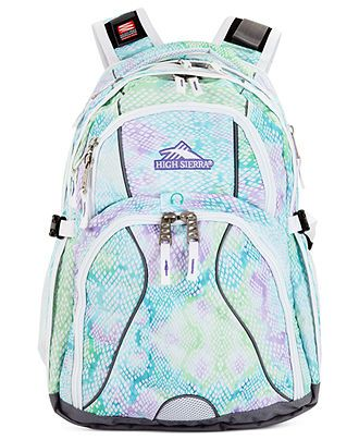 High Sierra Backpack, Swerve - Backpacks & Messenger Bags - luggage - Macy's