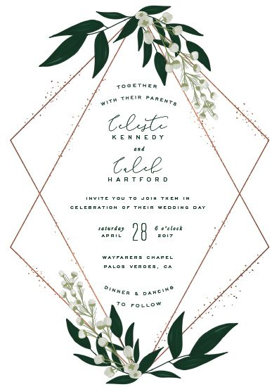 wedding invitations - Delight by Leah Bisch