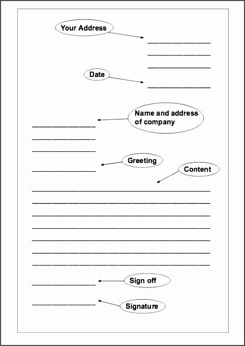 Best Formal Letter Writing Format For Students Images On