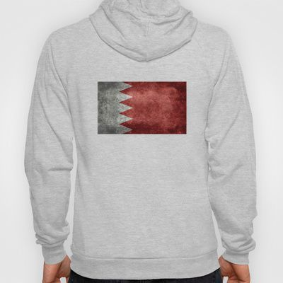 The flag of the Kingdom of Bahrain - Authentic version Hoody