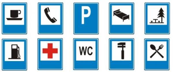 Quais os sinais de trânsito de informação - 6 passos