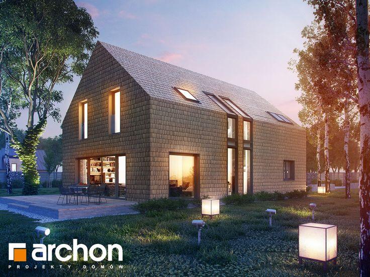 projekt Dom w amburanach widok 1
