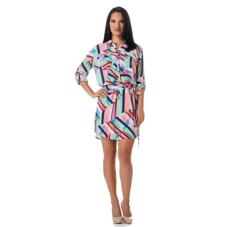 Brighten up your #Monday with this colorful #ToriRichard Monica dress! A fun but still professional look for the office! http://ss1.us/a/aw60g4nh
