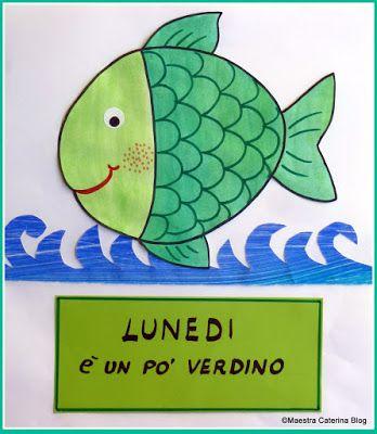 Maestra Caterina - Filastrocca della settimana del pesciolino Cambiacolore