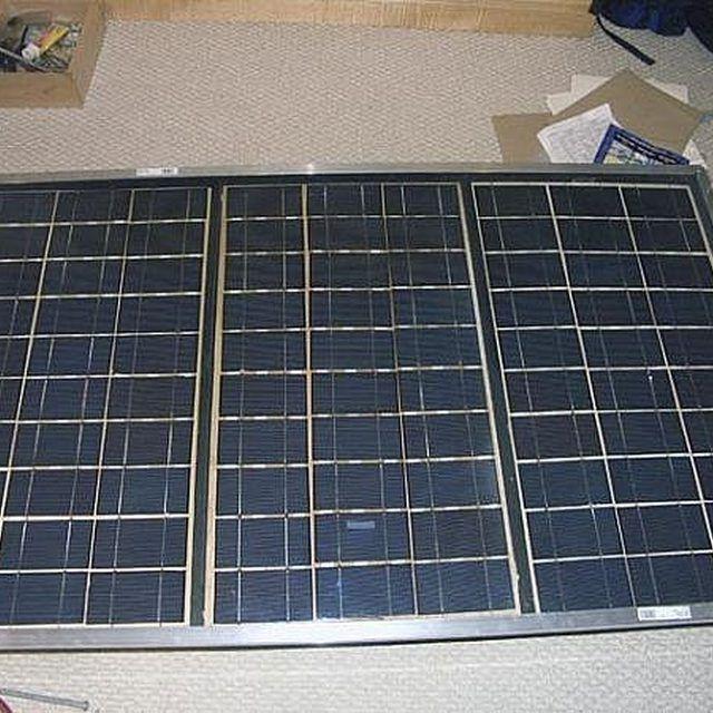 собрать солнечную панель