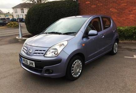 Nissan Pixo 1.0 N-Tec 5 door Price - £2995 Very smart little Nissan Pixo with just 46,000 miles and full service history. Nice spec includes air con. £20 a year tax and very low insurance.
