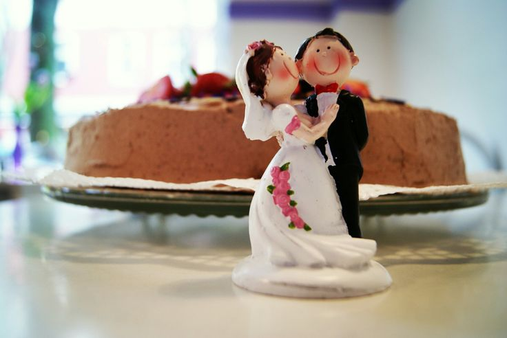 Torte zur Hochzeit