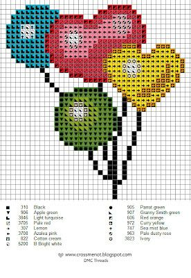 amour - love - coeur - point de croix - cross stitch - Blog : http://broderiemimie44.canalblog.com/, globos punt de cruz