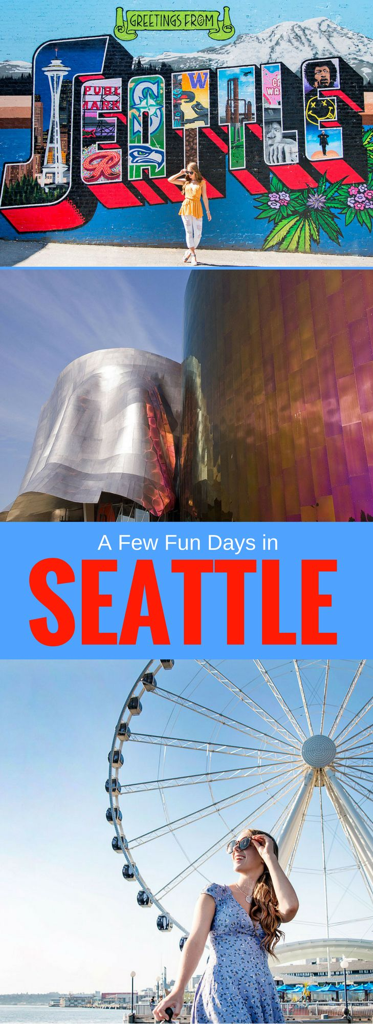 Bella Bucchiotti of xoxoBella is sharing the highlights of her vacation in Seattle, her stay at The Maxwell Hotel plus seeing the Space Needle, the Seattle Aquarium, Pike Place Market, Agrosy Harbor Tours, The Great Wheel, the EMP Museum, and Chihuly Garden and Glass.
