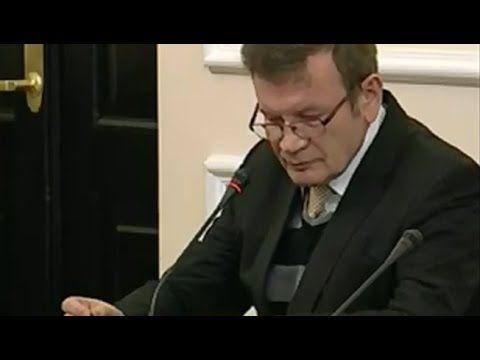 Amber Gold Posiedzenie komisji, ostre przesłuchanie prok  Bogusława Mich...