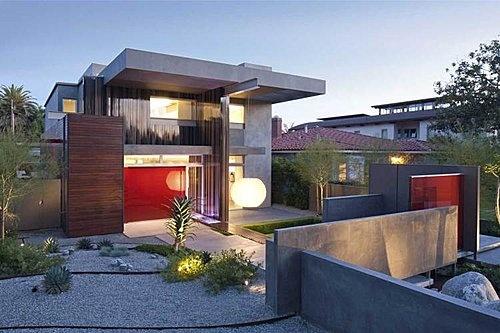 .Green Home, House Front, Celebrities Photos, Santa Monica, Dreams House, Lisa Ling, Modern House, Architecture Design, Monica House