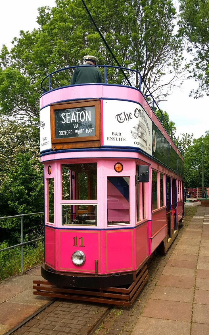 Seaton Tramway - a day out in Devon