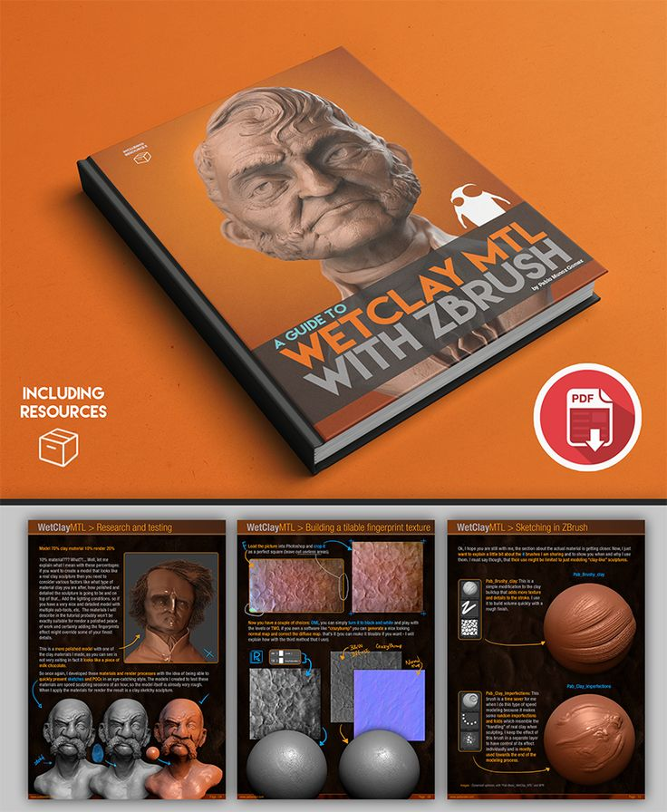 FREE! Wet Clay Material and Rendering Tutorial