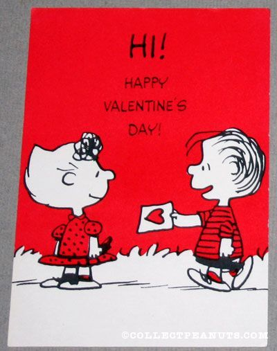 107 best valentines daypeanuts images – Virtual Valentines Cards